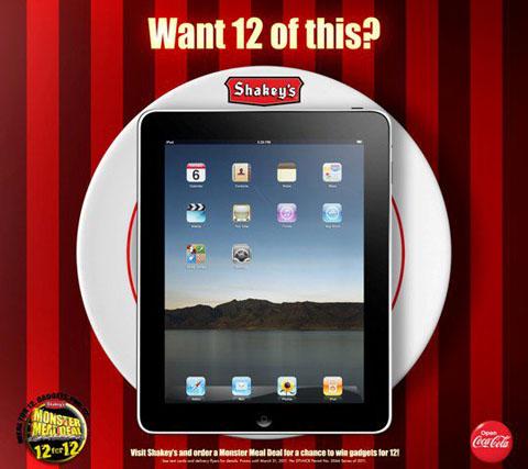 shakeys-apple-ipad-promo