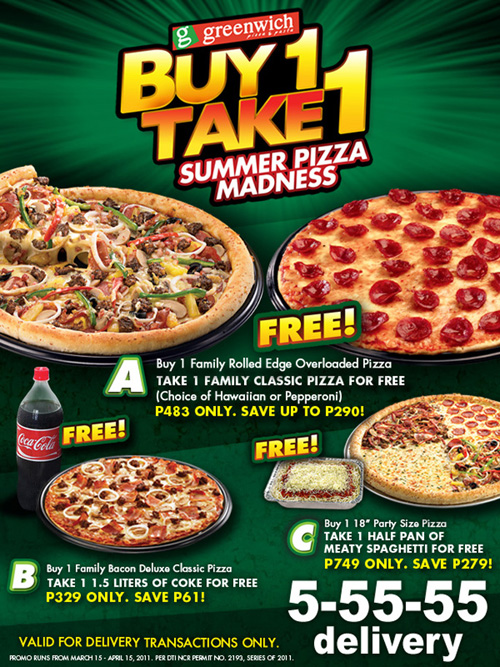 greenwich-buy1take1-summer-pizza-promo