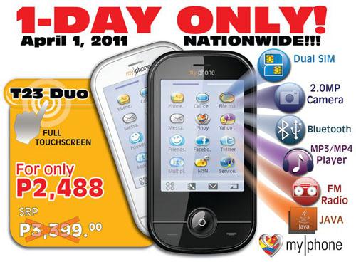 my-phone-t23-duo-sale