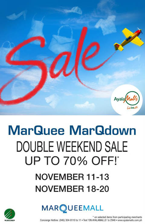 marquee-mall-double-weekend-sale-november-2011