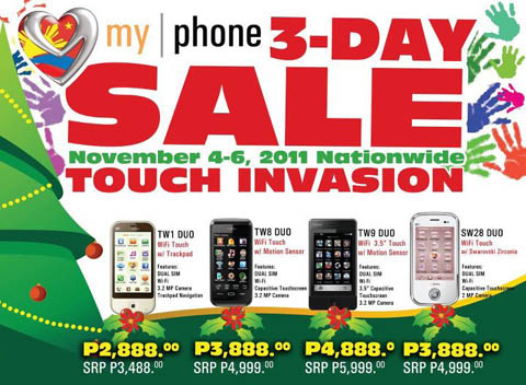 myphone-3-day-sale-november-2011