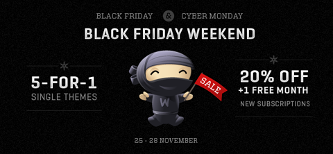 woothemes-black-friday-cyber-monday2011