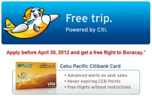 citibank-cebu-pacific-free-flight-boracay