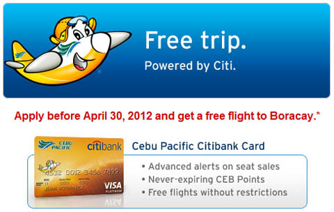 citibank-cebu-pacific-free-flight-boracay