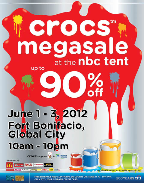 crocs-megasale-at-nbc-tent