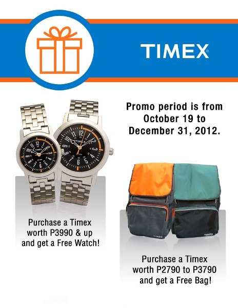 Timex discount coupons