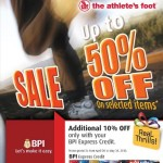 Planet Sports and the Athlete's Foot Sale