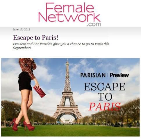 escape paris