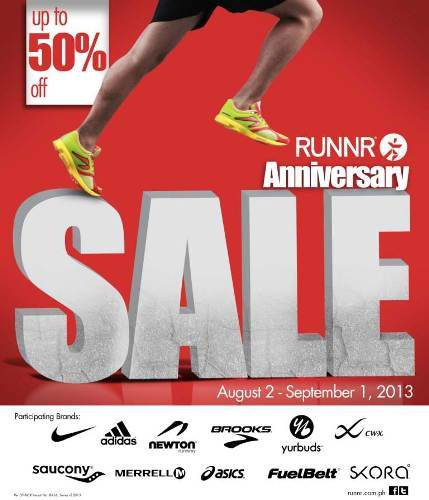 RUNNR Anniv Sale 2013