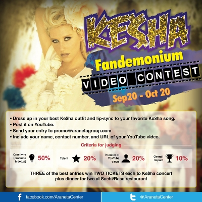 KE$HA FANDEMONIUM VIDEO CONTEST