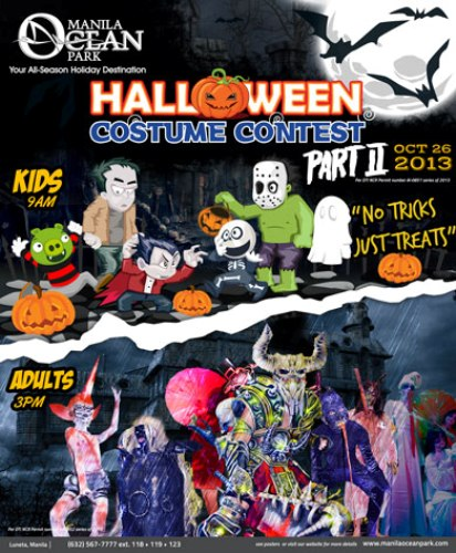 Manila Ocean Park: Halloween Costume Contest Part 2 Kids Edition