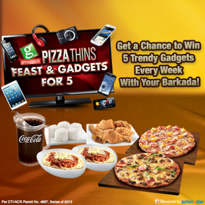 greenwich-pizza-thins-feast-and-gadgets-promo