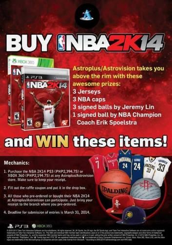 NBA2K14-Astro- Win-Premium-Items