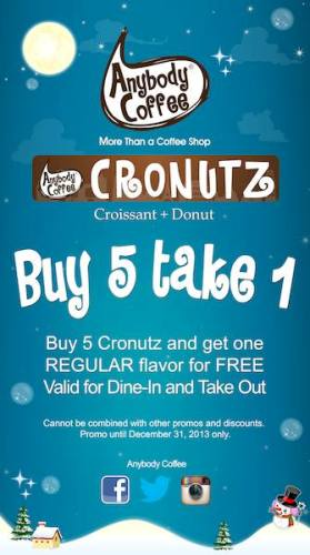 Cronutz-Buy1-Take1-Promo