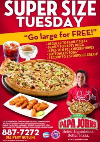 papa-johns-super-size-tuesday