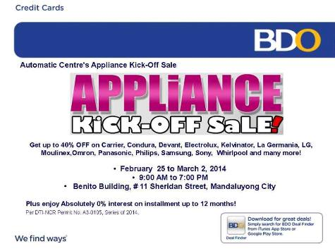 automatic-center-appliance-kick-off-sale