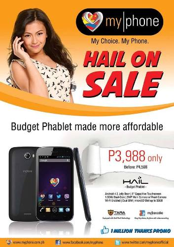 myphone-hail-on-sale