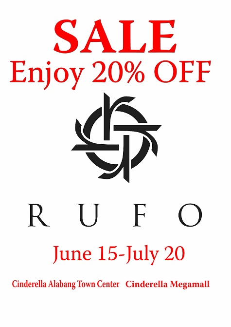 Rufo Mid Year Sale