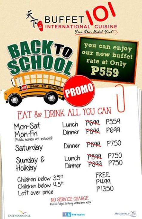 buffet-101-back-to-school-promo