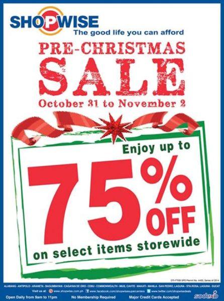 shopwise-pre-christmas-sale
