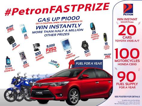 Gas Promos, Contests, Sales and Discounts Philippines
