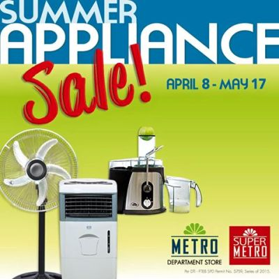 metro-stores-summer-appliance-sale