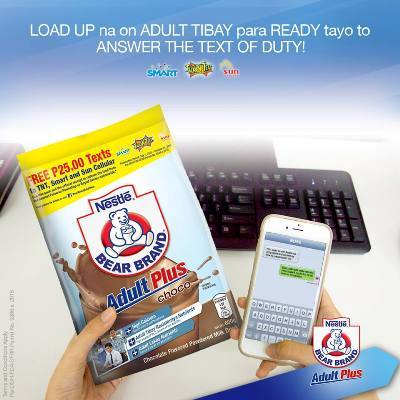 bear brand adult plus free text promo - Philippine Contests