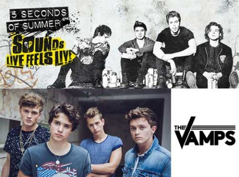 5SOS and The Vamps Ticket Presale Visa Promo