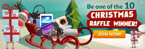 Christmas Raffle Promo