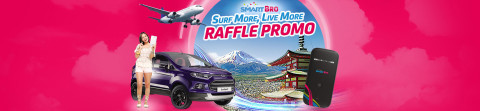 Smart Bro Surf More Live More Promo