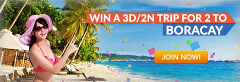Win a Trip to Boracay