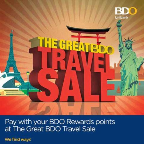The Great BDO Travel Sale 2016