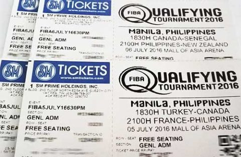 Win Tickets to watch Gilas Pilipinas in the FIBA OQT