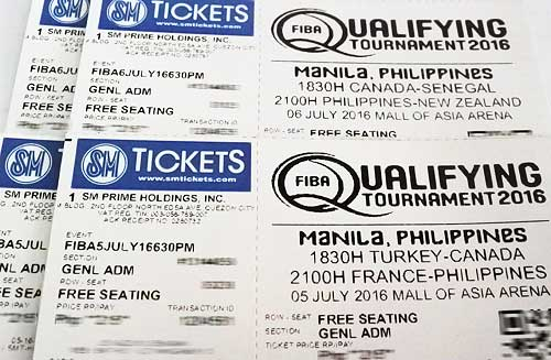 Giveaway Tickets Philippines