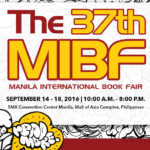Manila International Book Fair 2016