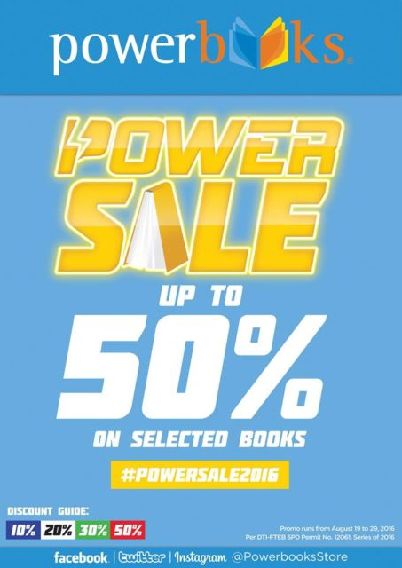 Powerbooks Powersale 2016