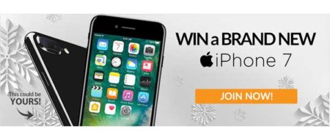 Win a Brand New iPhone 7