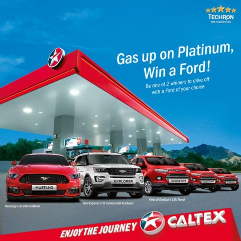 Win a Ford Car at Caltex